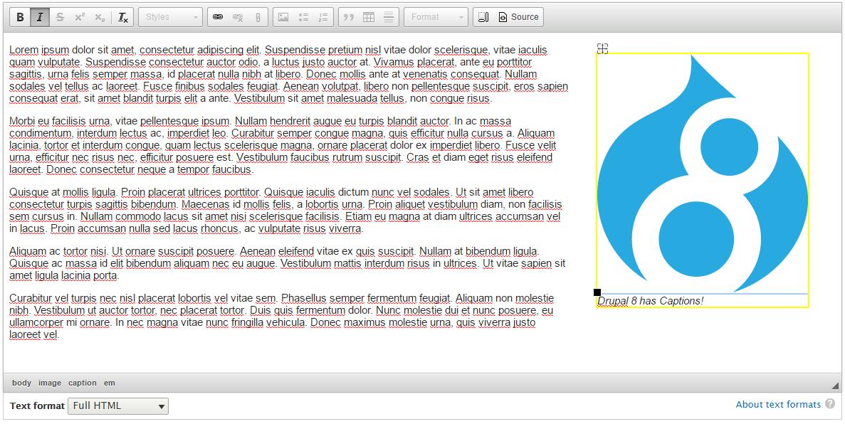 Enhancing CKEditor in Drupal 8 | Drupal Aid
